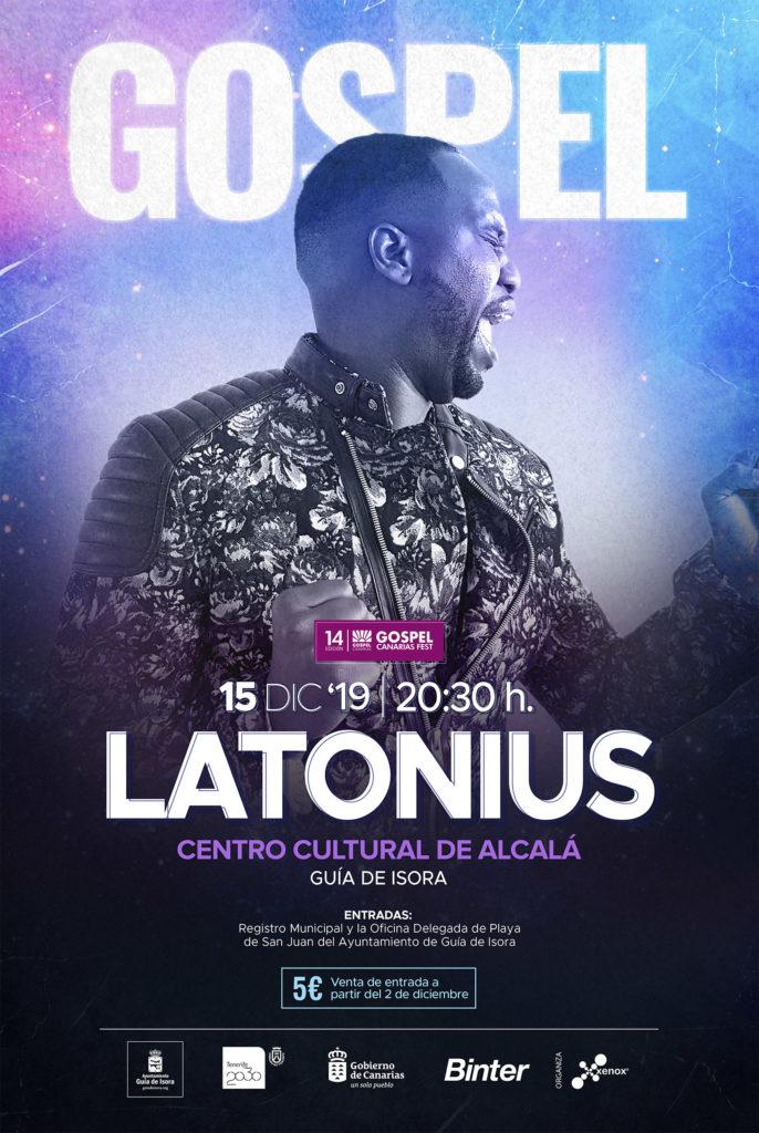 Latonius Gospel Canarias Fest