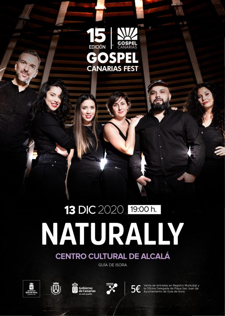 Naturally_Gospel-Canarias-Fest_Xenox_Guía-de-Isora