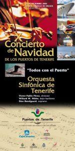 Concierto-de-Navidad-Puertos-de-Tenerife-Cartel-2003